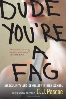"""Read """"Dude, You're a Fag Masculinity and Sexuality in High School"""" by C. Pascoe available from Rakuten Kobo. High school and the difficult terrain of sexuality and gender identity are brilliantly explored in this smart, incisive . Social Practice, Gender Inequality, Gender Studies, In High School, Sociology, Social Science, Book Format, The Book, Working Class"""