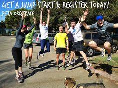 Just ONE month until the 2013 #PETAPack training season begins!   Register today: http://peta.org/race  #Running #Biking #Walking #Fitness #Exercise #Marathon #TeamTraining #Race4Animals