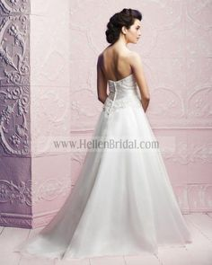 Gown 4251 | 2012 Spring Collection | Paloma Blanca (back)
