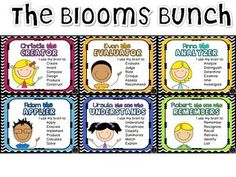 bloom's taxonomy questions elementary level - Google Search
