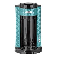 Bella Diamonds Collection Single Serve Coffee Maker Teal $39.99
