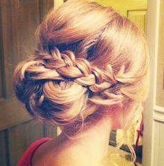 Formal braided bun