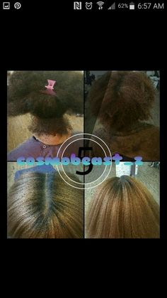 Natural hair can be colored too. Don't be scared just take care of your hair