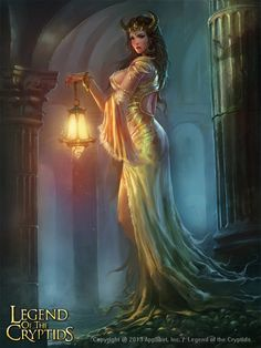 Artist: Songnan Li aka oldmole - Title: legend of the cryptids - Card: Unknown