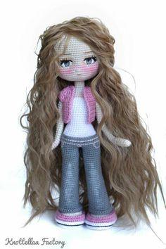 Добавить описание Crochet World, Crochet Art, Crochet Flowers, Crochet Toys, Amigurumi Doll, Amigurumi Patterns, Doll Patterns, Crochet Patterns, Barbie Doll House