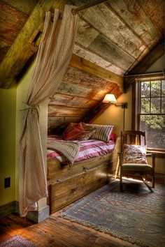 Great way to tuck in extra sleeping space!  Love the ceilings and floors!  Land's End Development