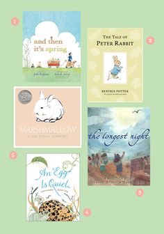 Ten Great Books for Spring, Easter and Passover!