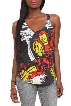 Geek Fashion: Comic Book Tank Tops for the Summer | Geek Piñata