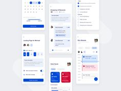 Team management application by Dawid Jankowski Ui Design Mobile, Mobile Application Design, App Ui Design, User Interface Design, Web Design, Graphic Design, Flat Design, App Office, Mobile Ui Patterns