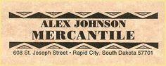Alex Johnson Mercantile  #HiFromSD #BlackHills #RapidCity