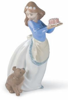 Puppy's Birthday NAO Figurine. Shop the entire NAO by LLadro Porcelain Figurines Collection at AllSculptures.com