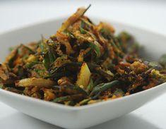 Besanwali Bhindi - Maharashtrian Cuisine by Sanjeev Kapoor