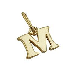 Dreamlife Anhänger Buchstabe M glänzend 9Kt GOLD Dreamlife https://www.amazon.de/dp/B075W921H4/?m=A105NTY4TSU5OS