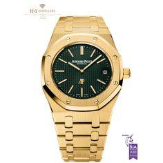 Audemars Piguet Royal Oak Extra Thin The Hour Glass Yellow Gold - ref 15205BA.OO.1240BA.01