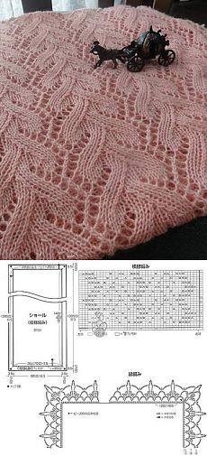pretty leaf edging used as button holes sweater detail knitting Knitting Paterns, Knitting Charts, Lace Knitting, Crochet Gloves, Crochet Shawl, Crochet Stitches, Knit Crochet, Shawl Patterns, Stitch Patterns