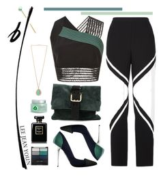 """""""22.06.16"""" by malenafashion27 ❤ liked on Polyvore featuring Jonathan Simkhai, BCBGMAXAZRIA, Proenza Schouler, Dsquared2, Wet n Wild, Chanel and Fuji"""