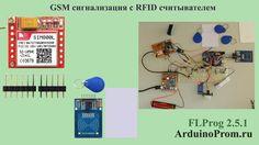 GSM сигнализация с RFID считывателем