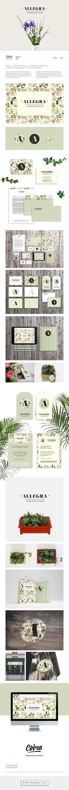 Allegra Florist Branding by Cobra Studio | Fivestar Branding Agency – Design and Branding Agency & Curated Inspiration Gallery
