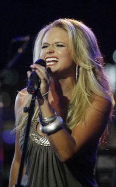 Miranda Lambert. Absolutely love her. Amazing music.