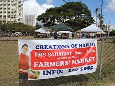 ハワイではファーマーズ・マーケットがブーム。新しいマーケットを紹介。