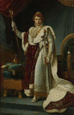Portrait of Emperor Napoleon I. ca. 1805 - ca. 1815 | Fran?ois Pascal Simon G?rard (Baron) | oil painting  #napoleon #royalty art