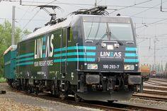 """Bombardier 35342 - Lineas """"186 293-7"""""""