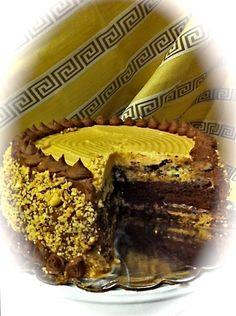 'Classic' Peanut Butter Truffle Caramel Ganache Cake.  Alexander's Chocolate Classics  309 E Main Street Dayton, WA 509-240-7531 http://www.alexanders-chocolate-classics.com