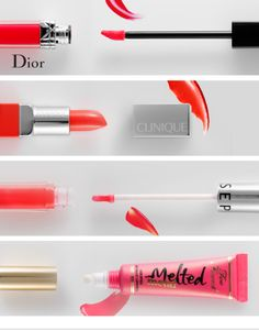MULTIPLICITY: SPRING LIPS Warm up to beautiful new finishes and formulations. Flowers are blooming. Love is in the air. And lip products? They're looking finer than ever. For some people, a new spring lip can make or break the season—so here at The Sephora Glossy, we've done the dirty work for you. Below, meet four lip innovations we love so much we could kiss. KELLEY HOFFMAN THE FOILED FINISH Too Faced Melted Metal Imagine a tube of foiled lipstick from the '90s melted in a time machine…