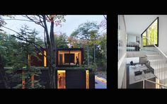 Beautiful green-roofed home is nestled deep inside Wisconsin's forests