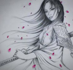 Gheisha warriors - Gheisha warriors The Effective Pictures We Offer You About diy home decor A quality picture can te - Japanese Geisha Tattoo, Japanese Drawings, Japanese Tattoo Designs, Japanese Art, Japanese Tattoos, Geisha Drawing, Samurai Drawing, Samurai Art, Geisha Tattoo Design