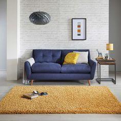 Bertie Shaggy Rug | Dunelm Living Room Carpet, Living Room Grey, Living Room Modern, Rugs In Living Room, Interior Design Living Room, Stair Rugs, Living Room Photos, Room Colors, Colours