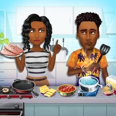 Virtual Families: Cook Off APK MOD v1.9.5 (Vidas ilimitadas) Virtual Families, Cook Off, Android, Cooking, Chef Hats, Kitchen Themes, Family Of Four, Family Games, Acting Games