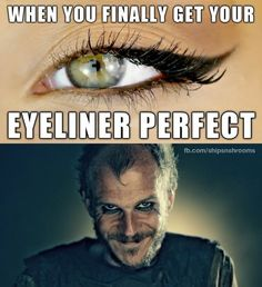 "He's got the strongest eye makeup game in all of Kattegat? | 26 Jokes Only ""Vikings"" Fans Will Understand"