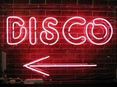 One day, my house will be full of neon signs. No one will be able to tell whether its a bar, restroom, nail salon or take-out joint. Disco Party, Prom Party, Kids Party Music, Deco Disco, The Get Down, Enjoy The Ride, Night Fever, All Of The Lights, 1970s