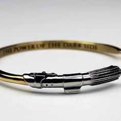 Han Cholo x Star Wars Darth Vader lightsaber cuff bangle bracelet ⭐️ Star Wars fashion ⭐️ Geek Fashion ⭐️ Star Wars Style ⭐️ Geek Chic ⭐️
