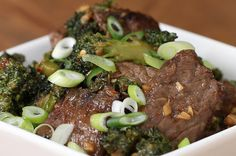 1. Lean Beef And Broccoli Stir-Fry