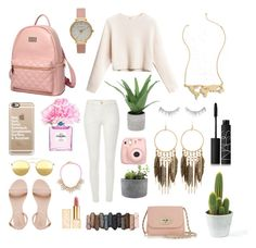 """""""Untitled #73"""" by anna-hammer on Polyvore featuring Rough Fusion, Princess Carousel, Olivia Burton, Casetify, Chanel, NARS Cosmetics, Threshold, Mykita, Panacea and Mulberry"""