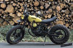 Le Yamaha TW 125 de Le French Atelier