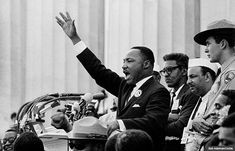 50 years after the March on Washington, see historic images and listen to the Rev. Martin Luther King, Jr.'s still powerful words.
