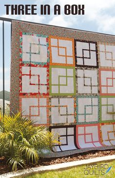From Jaybird Quilts, what a great design!