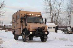 Unimog U4000 Camper
