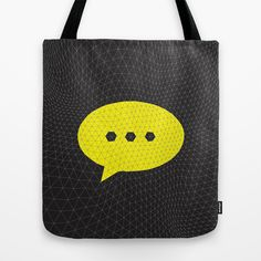 Open Ended Tote Bag by Papertookie