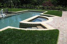 Carmel Cream Limestone Pool Coping - Tumbled Finish