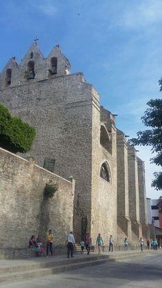 Catedral de Huejutla. Hidalgo, México.
