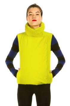 Norma Kamali - sleeping bag vest