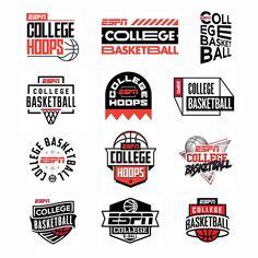 "834 Likes, 6 Comments - Lincoln Design Co. (@lincolndesignco) on Instagram: ""@espn college basketball #branding #lincolndesignco @logoinspirations #logoinspirations"" #logo"