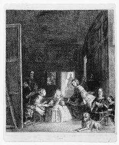 Las Meninas, after Velázquez, ca. 1778  Francisco de Goya y Lucientes (Spanish, 1746–1828)