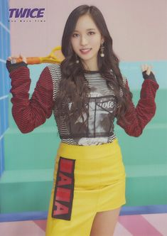 one more time's Nayeon, Kpop Girl Groups, Korean Girl Groups, Kpop Girls, Extended Play, K Pop, Twice Photoshoot, Warner Music, Sana Momo