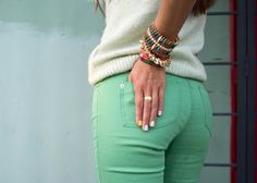 Fashion at its Fall: Minty green trend