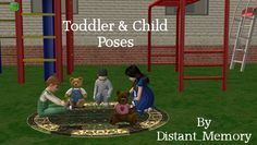 Toddler & Child Poses by Distant_Memory